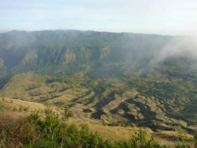 Mount Batur - mist scenery 5