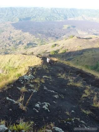 Mount Batur - mountain trail 8