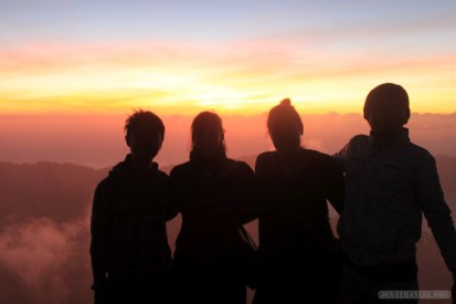 Mount Batur - sunrise group photo 1