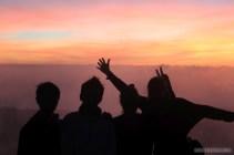 Mount Batur - sunrise group photo 3