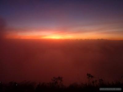 Mount Batur - sunrise scenery 4