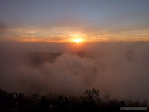 Mount Batur - sunrise scenery 9