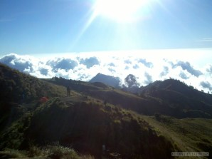 Mount Rinjani - first day scenery 9