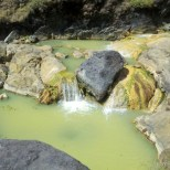 Mount Rinjani - hot springs 1