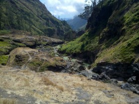 Mount Rinjani - hot springs scenery 1