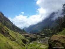 Mount Rinjani - hot springs scenery 2