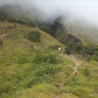 Mount Rinjani - second day climbing 2