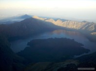 Mount Rinjani - summit view 2
