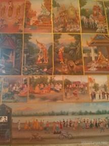 Nong Khai - Wat Phochai mural 1