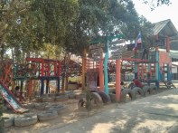 Pang Mapha - exploring Red Lahu village playground