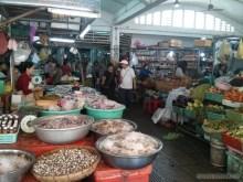 Phnom Penh - central market foods