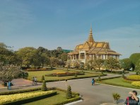 Phnom Penh - royal palace building 5