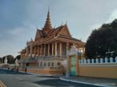Phnom Penh - royal palace gate 1