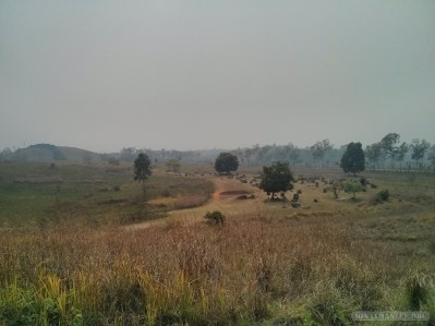 Phonsavan - Field of Jars landscape 1