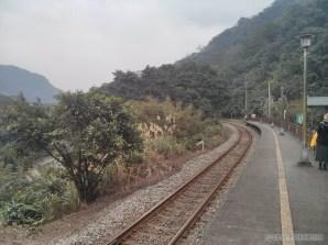 Pingxi - walking along railway 1