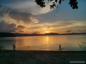 Port Barton - sunset 6