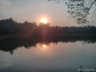 Pyin U Lwin - National Kandawgyi Gardens sunset 1