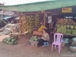 Pyin U Lwin - banana store