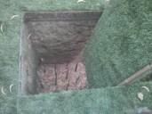 Saigon - Cu Chi tunnels trap spikes open