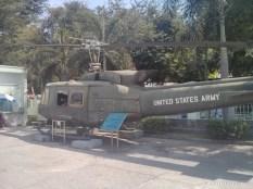 Saigon - War Remnants Museum helicopter 2