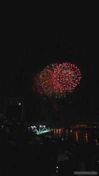 Saigon during Tet - fireworks 4
