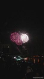 Saigon during Tet - fireworks 5