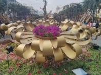 Saigon during Tet - flower street 13