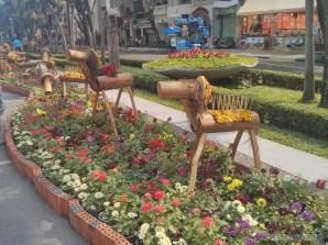 Saigon during Tet - flower street 18