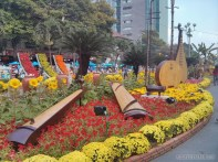 Saigon during Tet - flower street 24