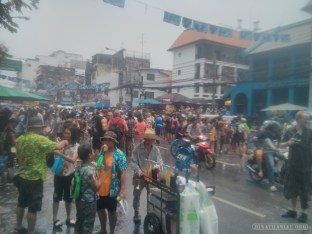 Songkran in Bangkok - Khao San Road 1