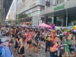Songkran in Bangkok - Silom street 4