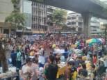 Songkran in Bangkok - Silom street 6