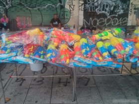Songkran in Bangkok - water guns for sale 5