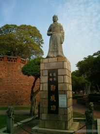 Tainan - Anping fort statue