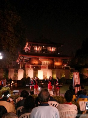 Tainan - Chikan tower concert