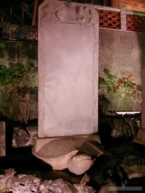 Tainan - Chikan tower stone tablets