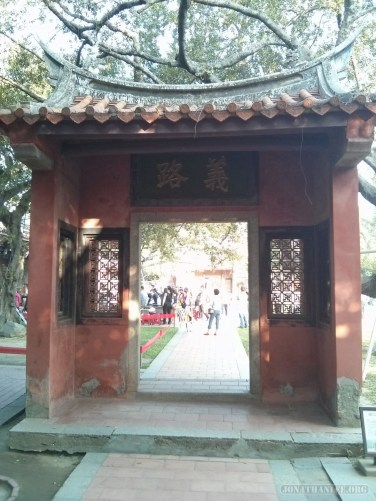 Tainan - Confucian temple 4