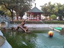 Tainan - Koxingxia temple fountain