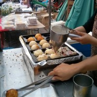 Tainan - giant takoyaki 1