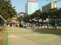 Tainan - school award ceremony 1
