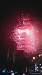 Taipei 101 New Years fireworks - fireworks 12