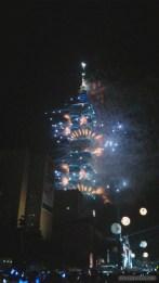 Taipei 101 New Years fireworks - fireworks 4