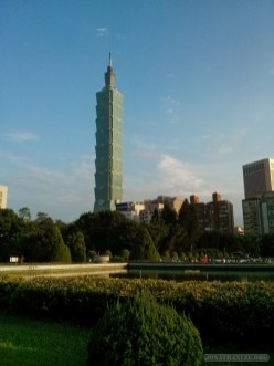 Taipei 101 - from a distance 2