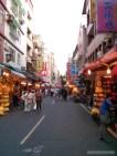 Taipei - Tamsui street market