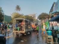Thingyan in Yangon - main street 4
