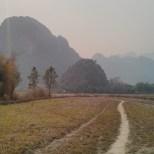 Vang Vieng - Pha Poak mountain road