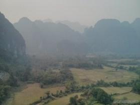 Vang Vieng - Pha Poak peak view 1