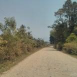 Vang Vieng - biking road 1