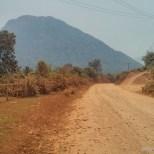 Vang Vieng - biking road 2