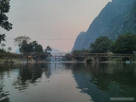 Vang Vieng - tubing on river 2